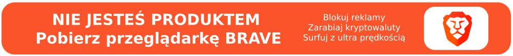 Pobierz Brave Browser i zarabiaj kryptowalutę BAT