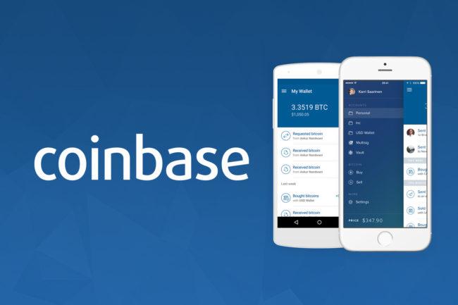 coinbase mobilna giełda i portfel kryptowalut