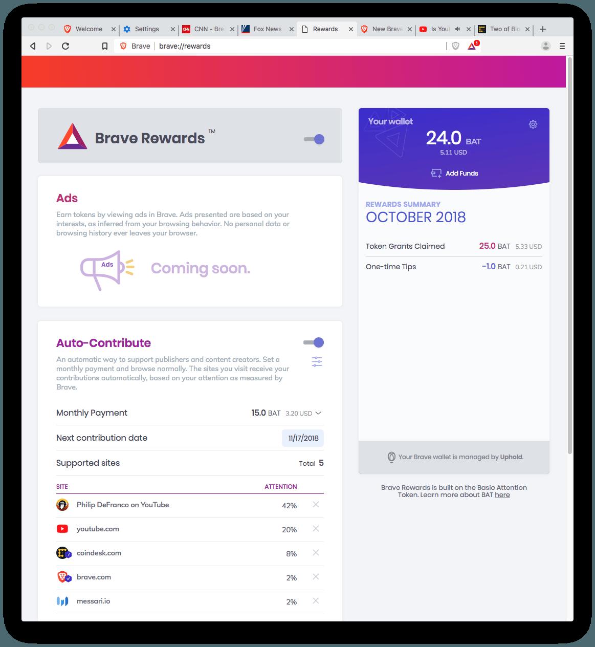 Pobierz przeglądarkę Brave na swój komputer lub telefon