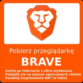 Pobierz za darmo Brave Browser
