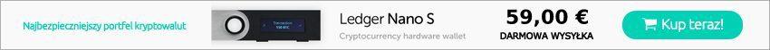 Portfel sprzętowy kryptowalut - Ledger Nano S