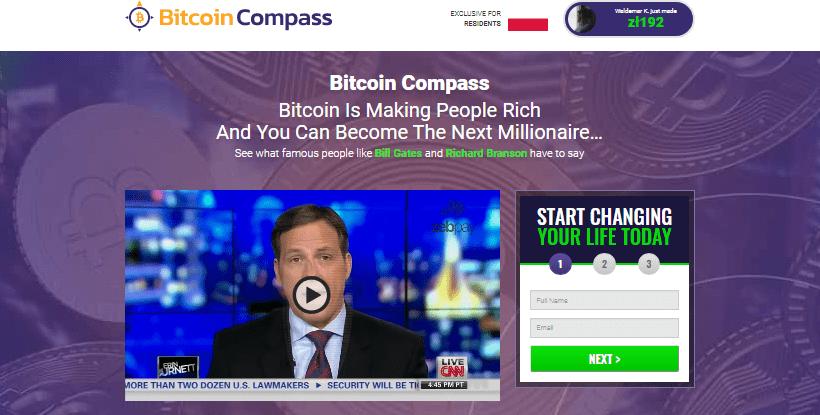 strona główna formularz rejestracji bitcoin compass film instrukcja dlaczego warto fioletowe tło logo górny róg