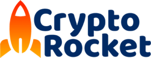 crypto rocket logo
