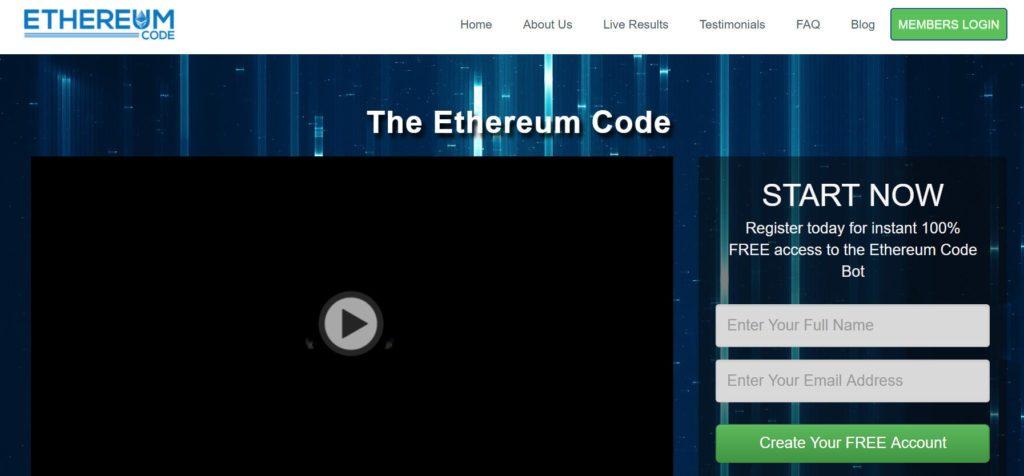 strona główna kryptobota ethereum code