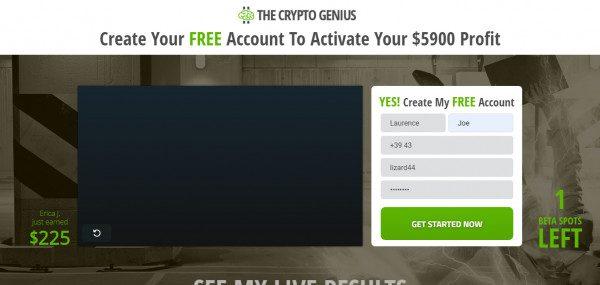 jak sie zarejestrować do kryptobota crypto genius