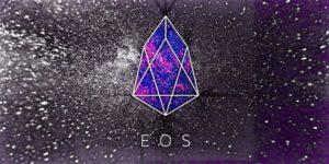 eos logo fioletowe tło