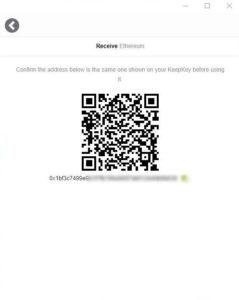 kod qr odbiór kryptowaluty adres portfela