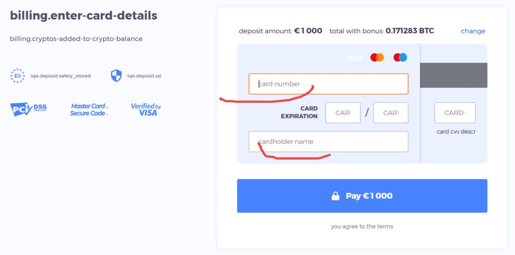 uzupełnienie danych karty okno systemowe finalizacja płatności