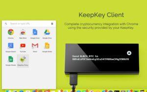 neonowe tło interface portfela wtyczka google chrome