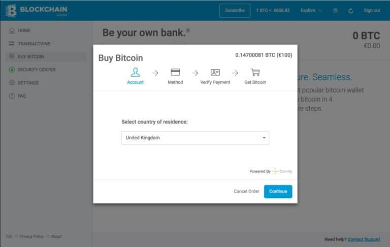 okno kupowania kryptowalut blockchain