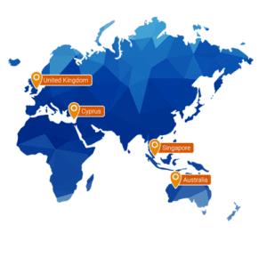 filie plus500 świat mapa wizualizacja