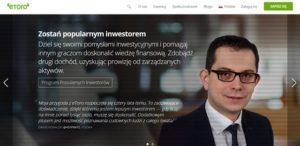 Dawid Kowalski inwestor eToro opinia witryna internetowa