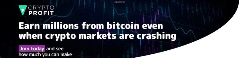 baner reklamujący kryptorobota