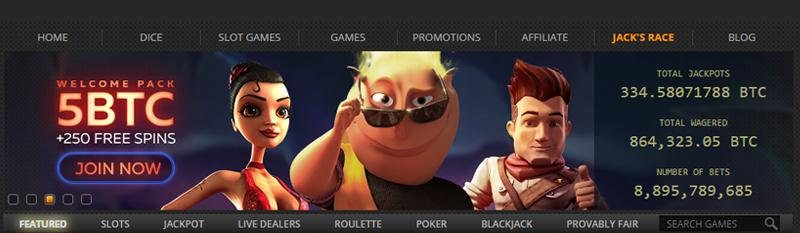 bonusy na start i wybór kategorii gier