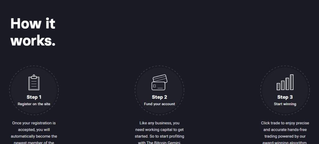instrukcja robota btc gemini trzy proste kroki