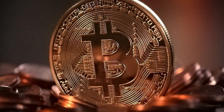 Bitcoin moneta kryptowaluty tapeta