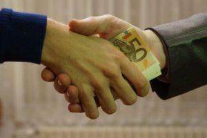 Kontrakt pieniądze euro banknoty