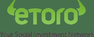 Logo png eToro broker kolor