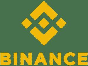 Binance logo w kolorze