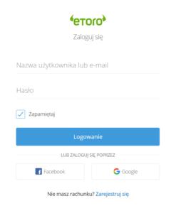 etoro trading platform logowanie online po polsku