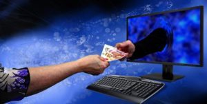 Pieniądze z komputera gotówka ryzyko