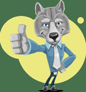 Wilk w krawacie, inwestycje