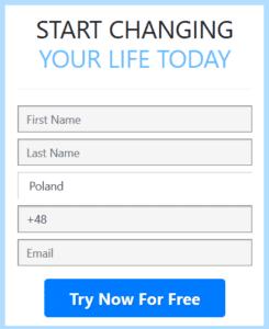 BitQT formularz rejestracyjny na stronie www robota