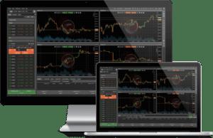 IC MArket charts trading stats BTC Crypto app