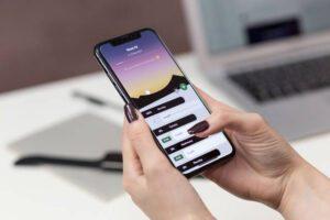 Aplikacje mobilne na telefonie komórkowym