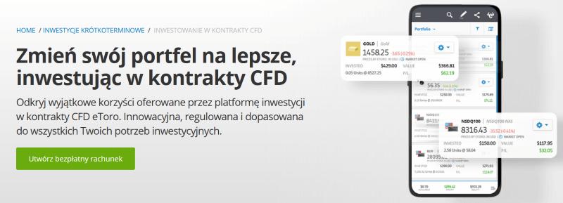 eToro kontrakty CFD