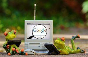 Akcje Google pod lupą żabich analityków